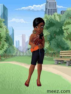 Meez 3D avatar avatars games