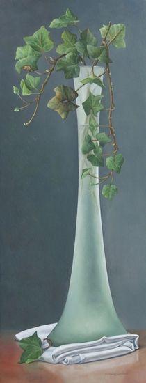Pita Vreugdenhil - Silleven met Hederastek in vaas