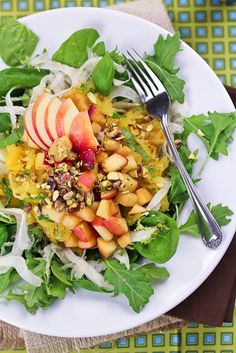 Spaghetti Squash, Shaved Fennel, and Warm Apple Salad | Community Post ...