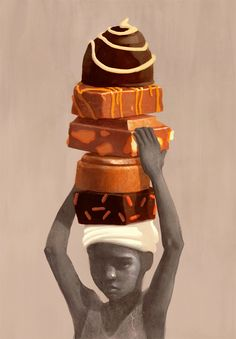 Do you know what this is about?!? Find out the real price of chocolate. Google child labor and start with the Hershey Co. Socially Conscious Illustrations by Fredrik Ratteen: On-Child-Labor-in-Cocoa-Production.jpg