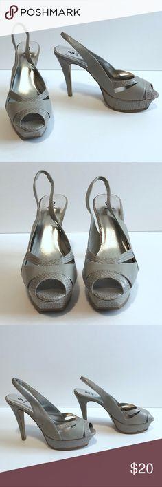 b7c41f9804c Bakers Slingback Platform Heels
