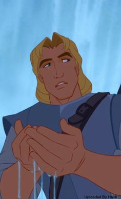 John Smith sees something reflected in the water.  Little does he know he's about to meet the most incredible woman he's ever met!