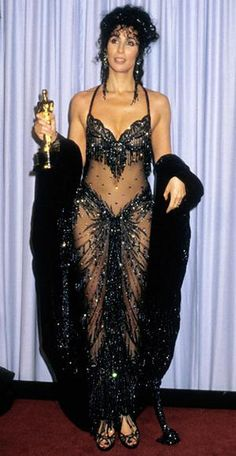 From Barbra Streisand to Celine Dion: The Most Outrageous Oscars Gowns of All…