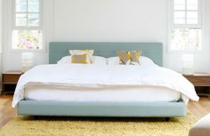 Tate bed - crate and barrel