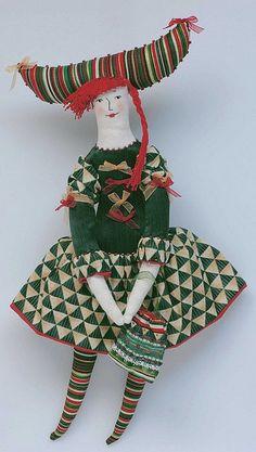 Art Doll: Kuk3 Artist: Yanovskaya Anastasia City: Moscow, Russia Url: http://artnow.ru/en/yanovskaya