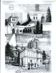 Dealu Monastery by AlinaGeorgia7.deviantart.com on @deviantART