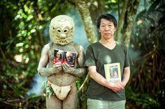 諸星大二郎先生パプアニューギニアへ