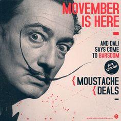 Movember Dali