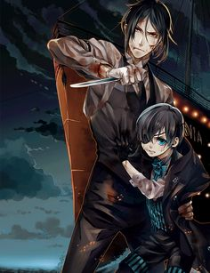 Sebastian & Ciel #official art