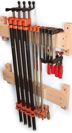 #woodworkingplans #woodworking #woodworkingprojects 7 Classic Ways to Store Clamps - The Woodworker's Shop - American Woodworker