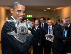 Brisbane, Austrailia  - 54 Iconic Pictures from President Obama's International Travels