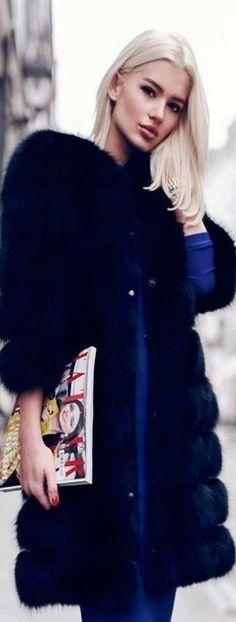 Blue Fur