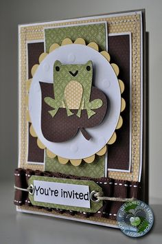 #cricut You're Invited card