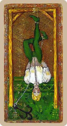 Cary-Yale Visconti-Sforza 1450 - The Hanged Man