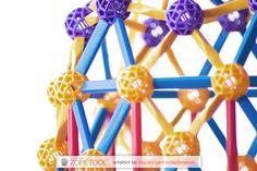 Zometool, Konstruktion, Molekühle, Gittermodell, basteln