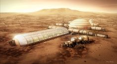 SpaceHabs: One man's architectural vision for colonizing Mars By Angus MacKenzie April 8, 2014 Versteeg's 'Kalpana One' Space Station, named after Space Shuttle Columbia astronaut Kalpana Chawla, is the artist's idea of what living in space could possibly look like for roughly 10,000 people (Image: Bryan Versteeg / Spacehabs.com)