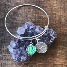 Leo Birthday Jewelry Zodiac Bangle Bracelet Astrology Charm Hippie Chick, Hippie Style, Bangle Bracelets, Bangles, Leo Birthday, Hippie Dresses, Tie Dye Dress, Astrology, Zodiac
