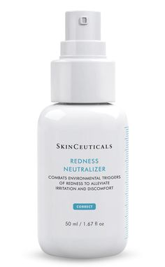 SkinCeuticals: Redness Neutralizer- Formulated with a patent-pending biomimetic peptide complex to combat environmental triggers that can lead to the appearance of skin blotchiness and discomfort.