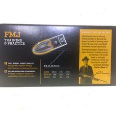 Browning 9mm 115GR FMJ Handgun Ammunition - B191800092