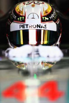 In the Paddock @ #BahrainGP 2014 Formula One Gulf Air Grand Prix w/Lewis Hamilton