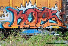 Seattle Box Car Graffiti by bluerainimages