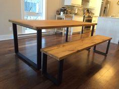 table en bois massif haut de gamme en 27 photos ! | banquettes