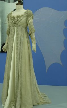 Ball gown/Wedding dress costume from Ever After. This is my all time favorite gown. The intricate bead work on this piece is amazing. Designed by Jenny Beavan.