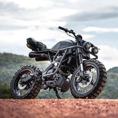 Custom Yamaha scrambler by K-Speed Tracker Motorcycle, Scrambler Motorcycle, Moto Bike, Motorcycle Design, Trail Motorcycle, Retro Motorcycle, Motorcycle Quotes, Offroad, R1200r