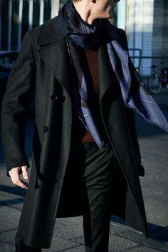 Cashmere and silk, 140 cm. Hermès Fall-Winter 2013. #hermes #tie #menswear #fashion