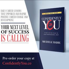 I'm grateful to coach and encourage many amazing people that work in different industries to excel in the workplace. I am happy to share that I have authored a book that offers daily topics and activities that will confidently help you stretch your career perspective and actions to strengthen your marketability, network and vision to accomplish your occupation goals and legacy. My book Confidently You, 21-Day Action Plan To Being Your Professional Best is available for pre-order.