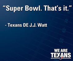 Texans nuff said.....