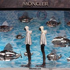 "MONCLER,Paris,France, ""Swimming with the Fishes"", pinned by Ton van der Veer"