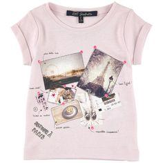 Cotton jersey T-shirt - Light pink