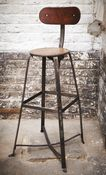 Image of chaise haute type bienaise / barstool as Bienaise Bar Stools, Type, Image, Furniture, Home Decor, Stools, Chairs, Bar Stool Sports, Decoration Home