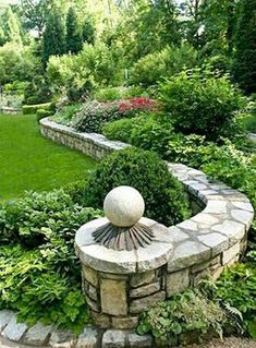 Garden Design 20 Enchanting Stone Walls Garden Ideas - Trendecora - Rose gardens and rose garden designs are typically quite stunning on their own, but if you are looking for a […]
