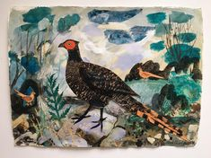 New work by Mark Hearld for the redisplay of the British Folk Art Collection at Compton Verney. Hearld is both curating the redisplay and producing new works in response to the collection, which opens to the public on 17 March 2018.