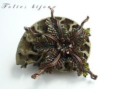 "Handmade brooches. Fair Masters - handmade brooch ""Anemone"". Handmade."