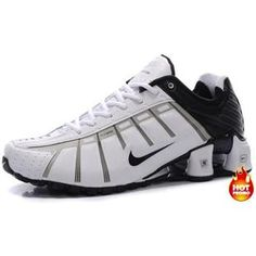 307faae83c27 Mens Nike Shox NZ 3 OLeven White Black Cheap Nike