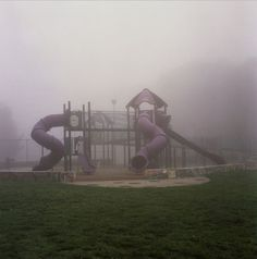 Empty playground for inspiration for an empty look as it is the end of the world in my film.