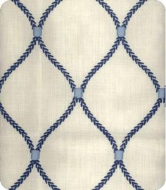 Deane Emb. Blue Woven Novelty Fabric -dining room chairs