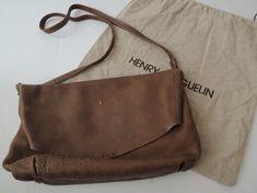 HENRY BEGUELIN エンリーベグリン オミノ刺繍ショルダーバッグ