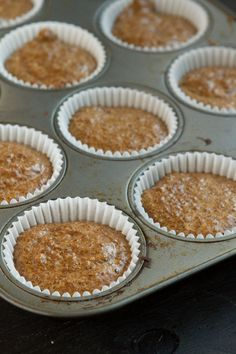 Flaxseed Cinnamon Bun Muffins | Healthful Pursuit