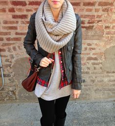 In love with this scarf!
