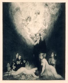 Norman Lindsay (1879-1969) The c. Sharp Minor Quartet, 1927