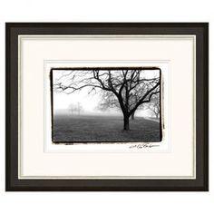 Misty Dawn I Framed Print