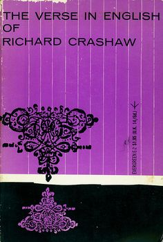 The Verse in English of Richard Crashaw.  Grove Press, 1955. Evergreen E-2. Cover by Roy Kuhlman. www.roykuhlman.com