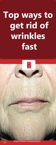 Top ways to get rid of #wrinkles fast