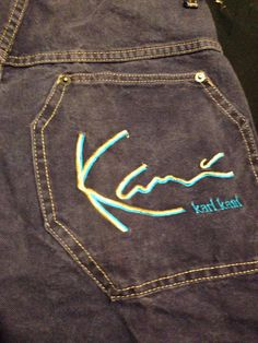 Vintage karl kani jeans shorts! on Etsy. Short En Jean90s FashionVintage  ClothingVintage ... 004815bb0b11