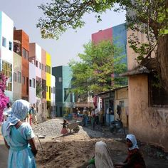 Architects Filipe Balestra and Sara Göransson have developed a strategy to develop informal slums into permanent urban districts through a process of gradual improvement to existing dwellings instead of demolition and rebuilding.