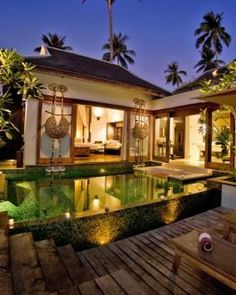 Anantara Phuket Villas  ( Phuket, Thailand )  All of the resort's 83 villas have private pools. #Jetsetter